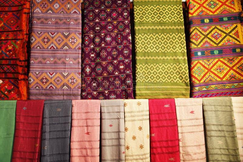 тканье bhutanese стоковые изображения rf