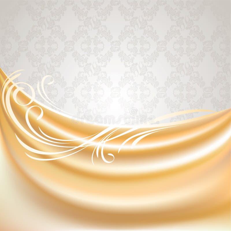 ткань бежевого занавеса предпосылки серая silk бесплатная иллюстрация