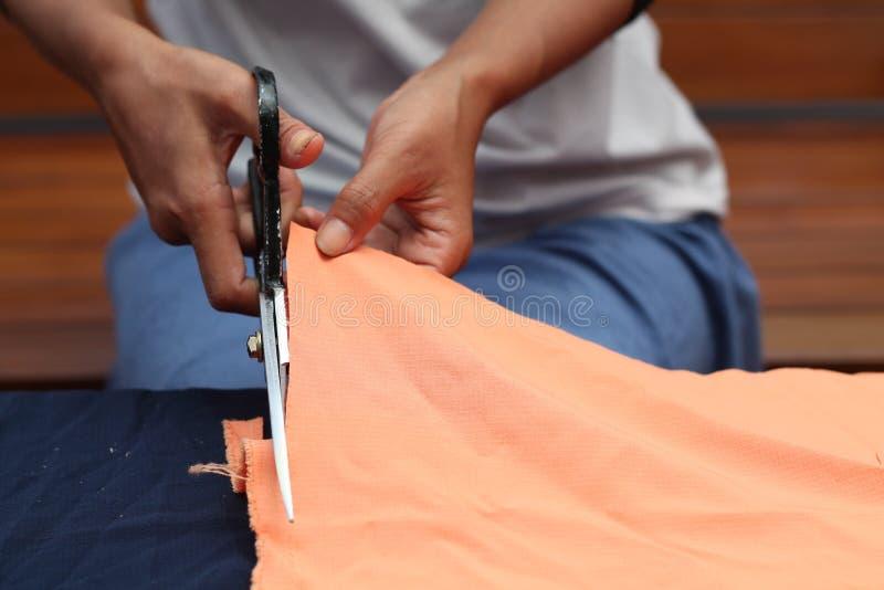 Ткань вырезывания, версия стоковая фотография rf