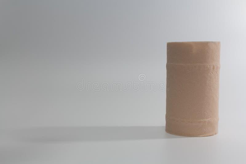 Ткань и тень крена стоковое изображение rf