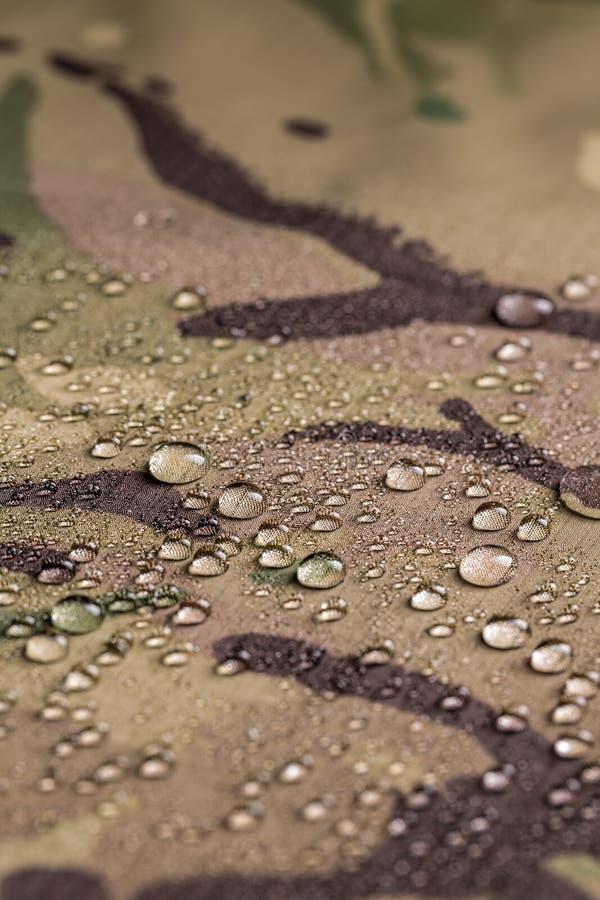 Ткань камуфлирования водоустойчивая стоковое изображение rf