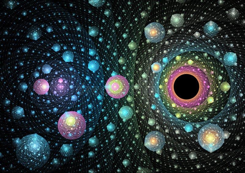 Download Ткань мысли космического времени Иллюстрация штока - иллюстрации насчитывающей ткань, цифрово: 88859006