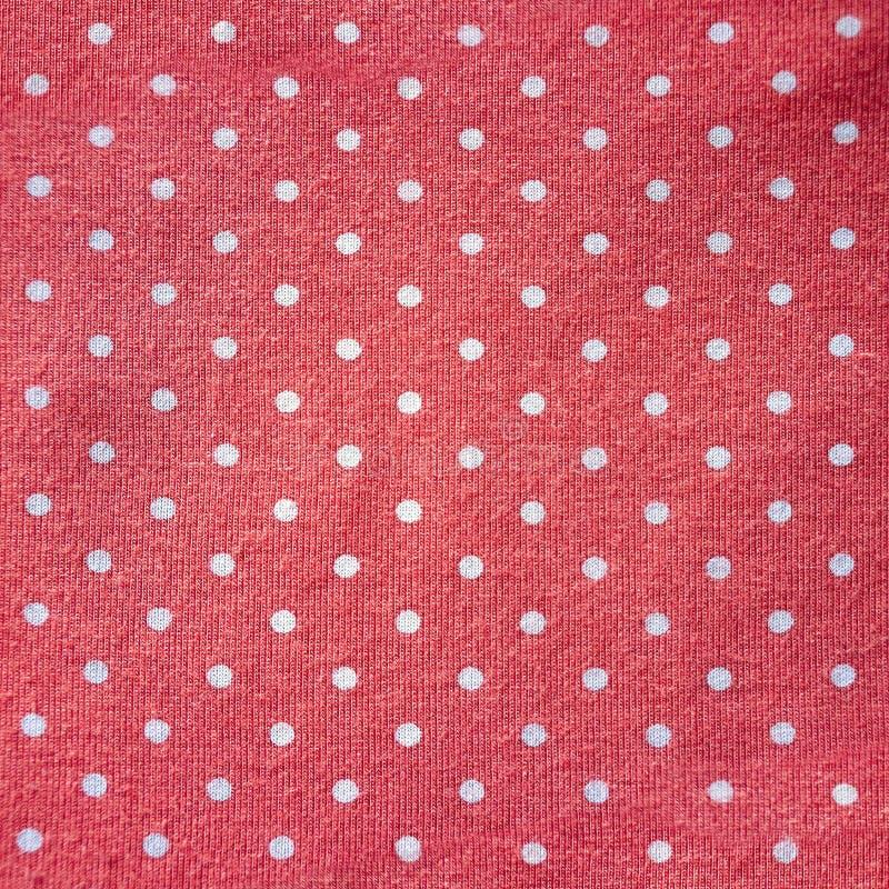 ткань Полька-точки стоковые фото