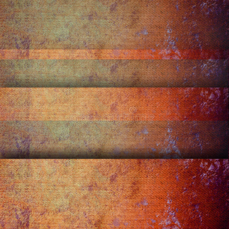Ткань текстуры предпосылки Grunge покрашенная латунью стоковые изображения