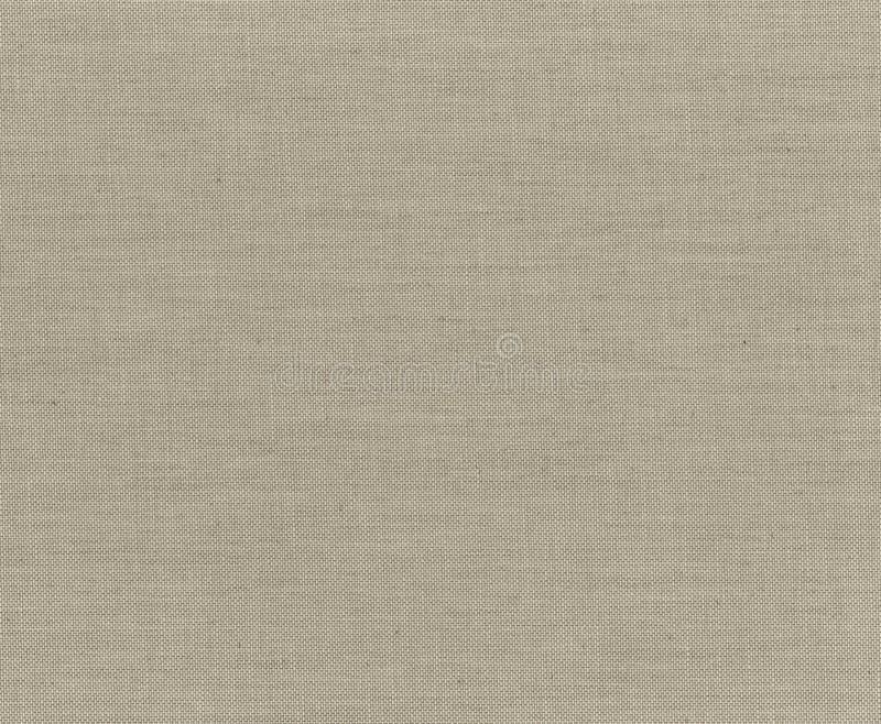 Ткань текстуры Skanirovaniya грубая русая cream - естественный брезент холста стоковые изображения rf