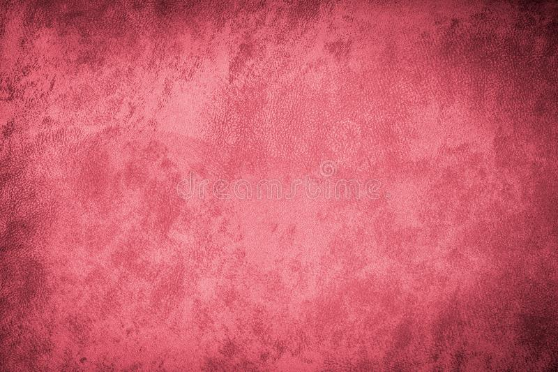 Ткань холста текстуры Grunge красная стоковая фотография rf