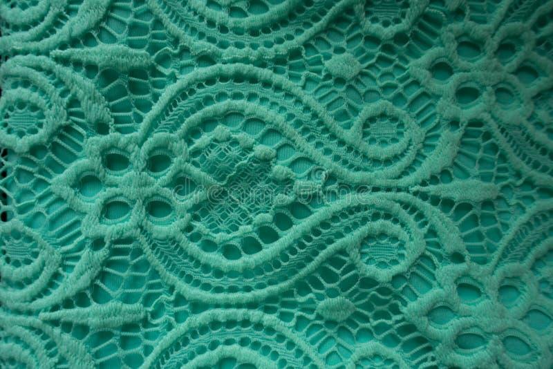 Ткань шнурка мяты стоковая фотография rf