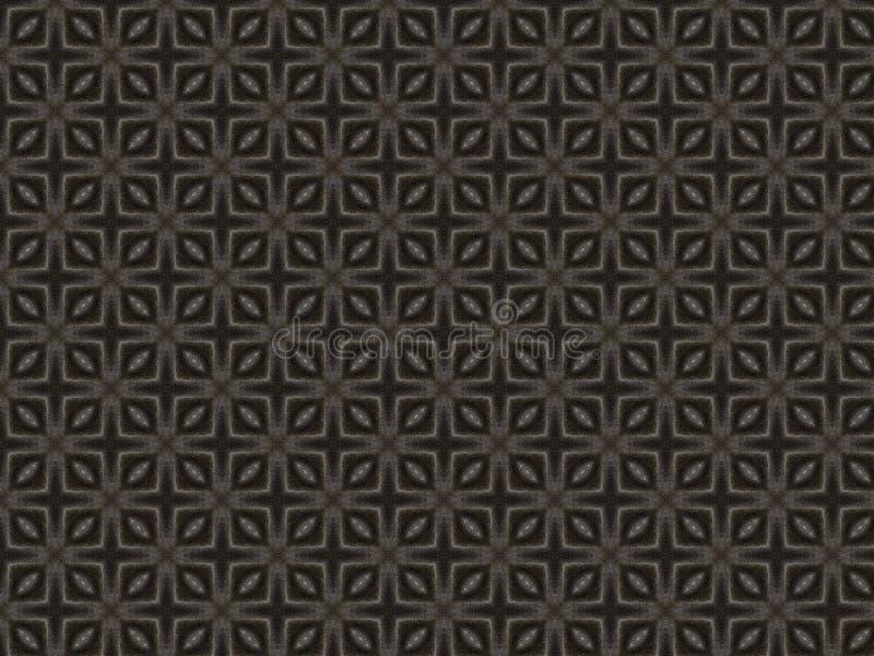 Ткань яркого блеска в черной и серой ткани парчи цветов иллюстрация штока