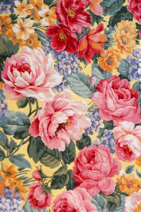 ткань 01 флористическая бесплатная иллюстрация