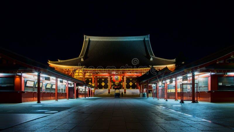 токио 1618 виска японии asakusa буддийское построенное стоковые изображения rf