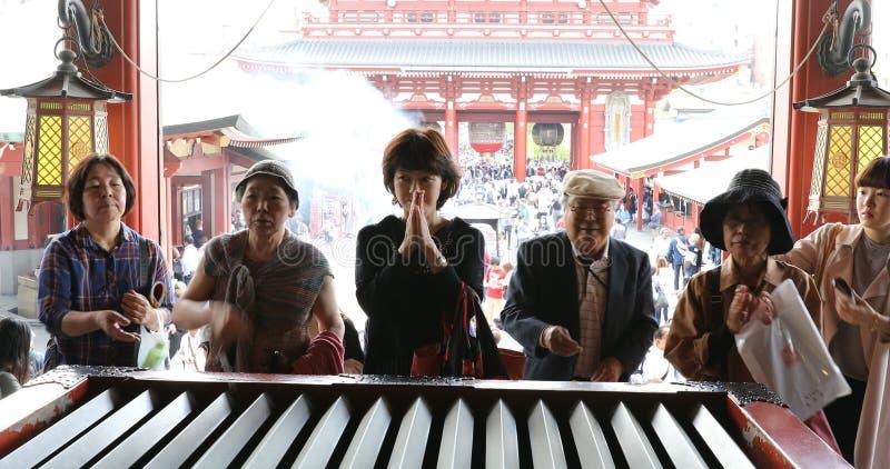 Токио виска Kannon стоковые фото