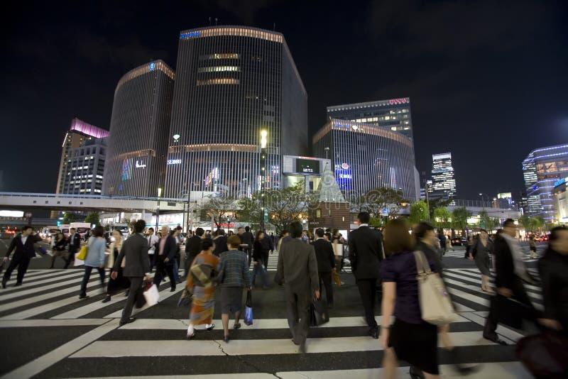 токио дорог стоковая фотография