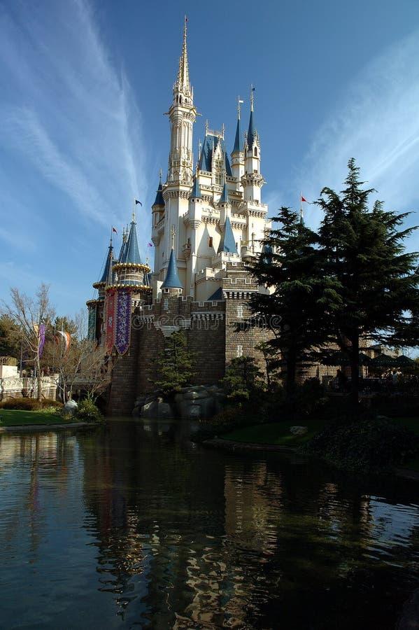 токио замока красотки disneylan стоковые фотографии rf