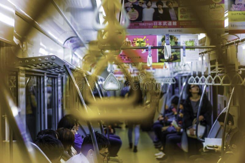 токио подземное стоковое фото