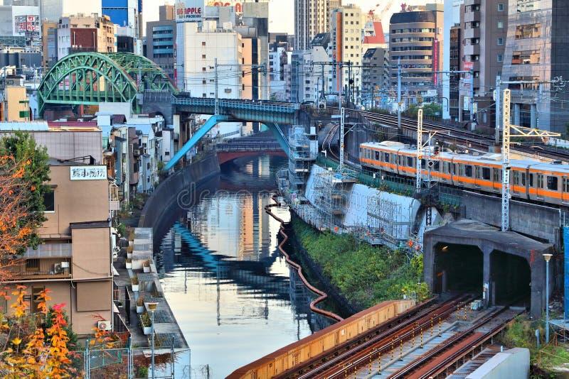 Токио - скрещивание Ochanomizu стоковое фото