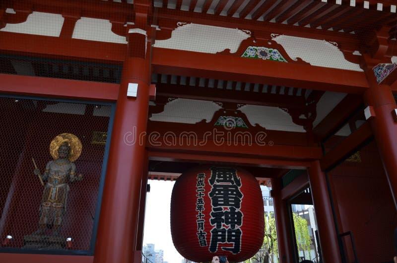 Токио Япония виска ji Senso стоковое фото