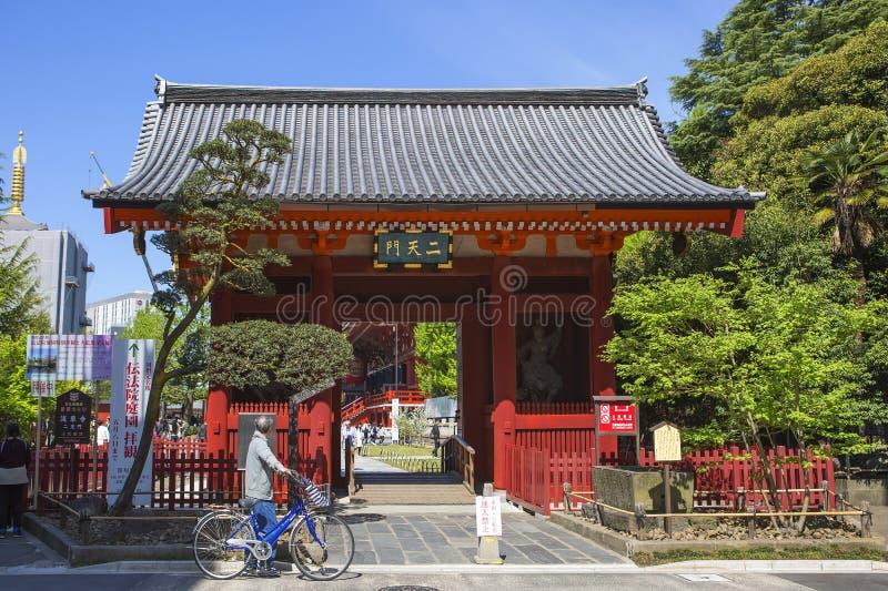 Токио, Япония, висок Asakusa Kannon восточное warwick warwickshire городка midlands строба Англии западный стоковые изображения rf