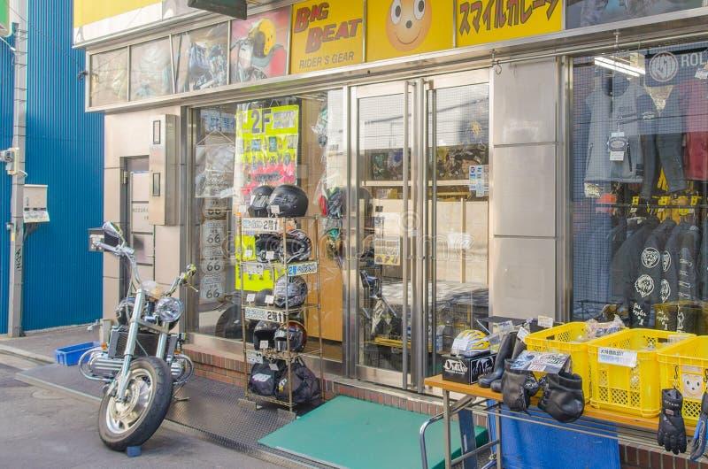 Токио, Япония - 7-ое февраля 2014: Магазин велосипеда в Ueno стоковая фотография rf