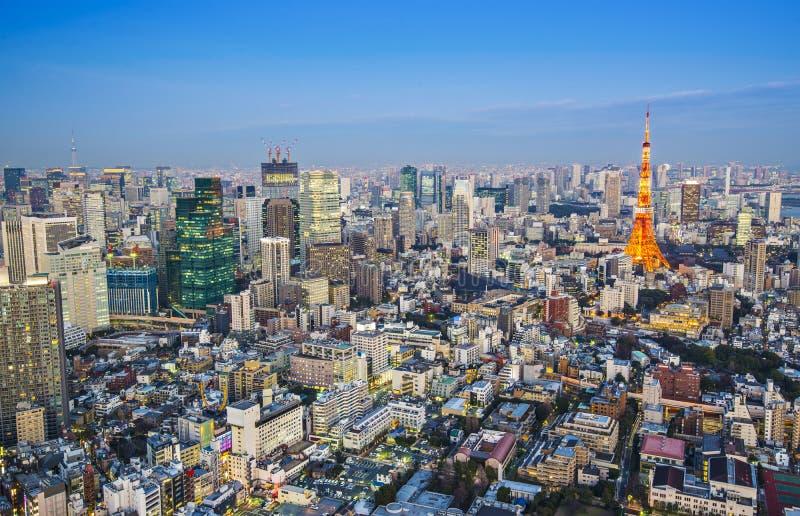 Токио, Япония Стоковое фото RF