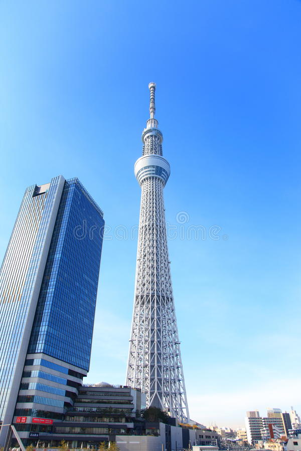 Токио Skytree, токио, Япония стоковое изображение rf
