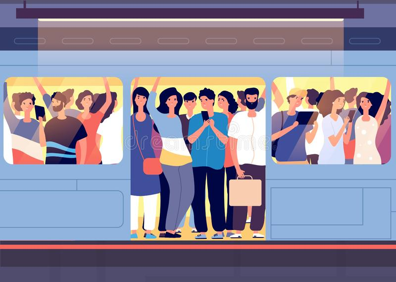картинки человечки в метро закладки мыслям