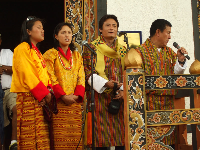 толпа пея к Редакционное Фотография