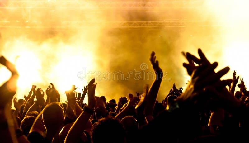 толпа стоковая фотография rf