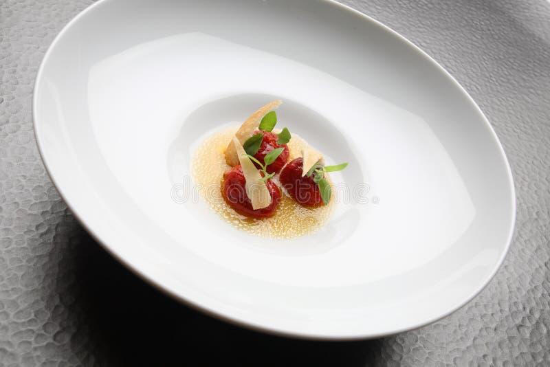 Томаты изысканной еды высушенные стоковое изображение rf