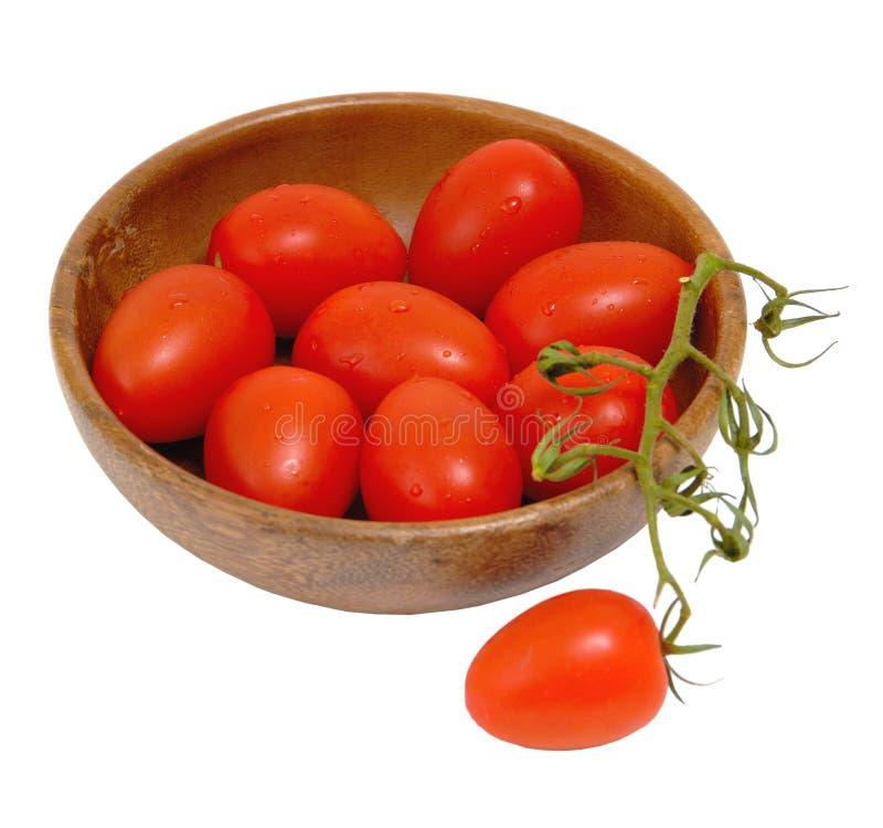 томаты roma младенца стоковое фото rf
