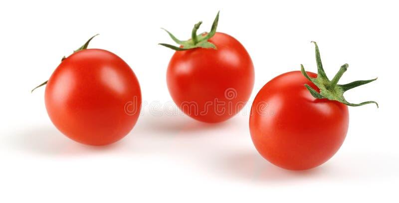 томат вишни свежий стоковая фотография