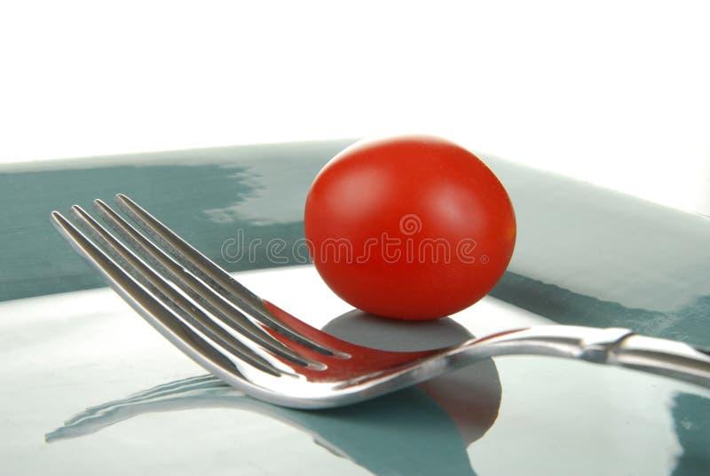 Download томат вишни стоковое изображение. изображение насчитывающей silverware - 18375201