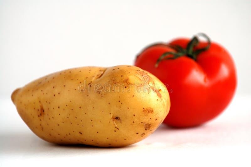 томат картошки стоковое фото rf