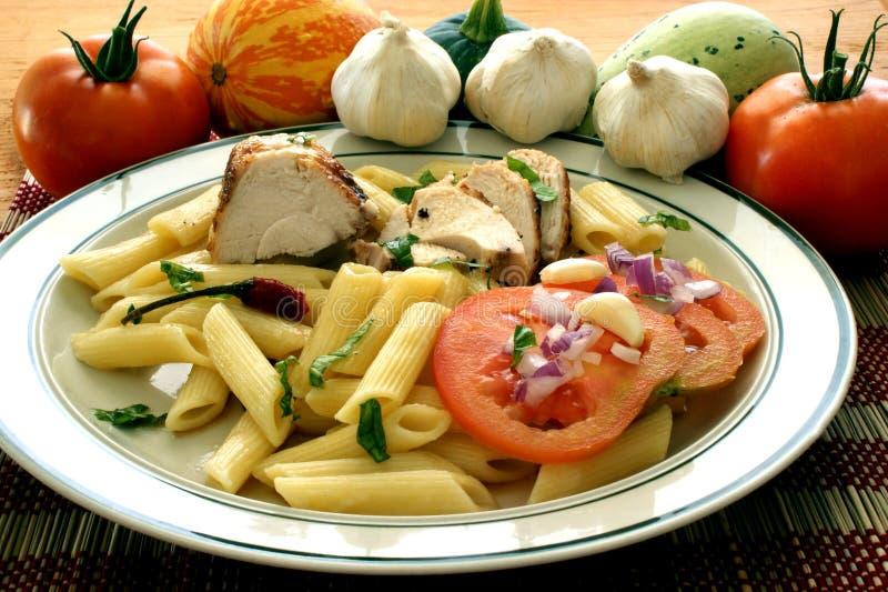 томат макаронных изделия мяса стоковое изображение rf
