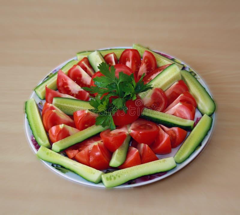 томат огурца стоковые фотографии rf