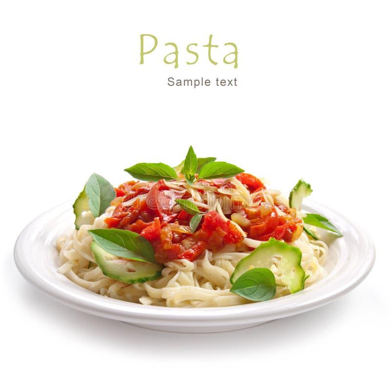 томат соуса макаронных изделия стоковые фото