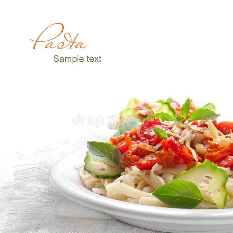томат соуса макаронных изделия стоковая фотография rf