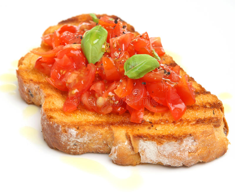томат bruschetta стоковые изображения