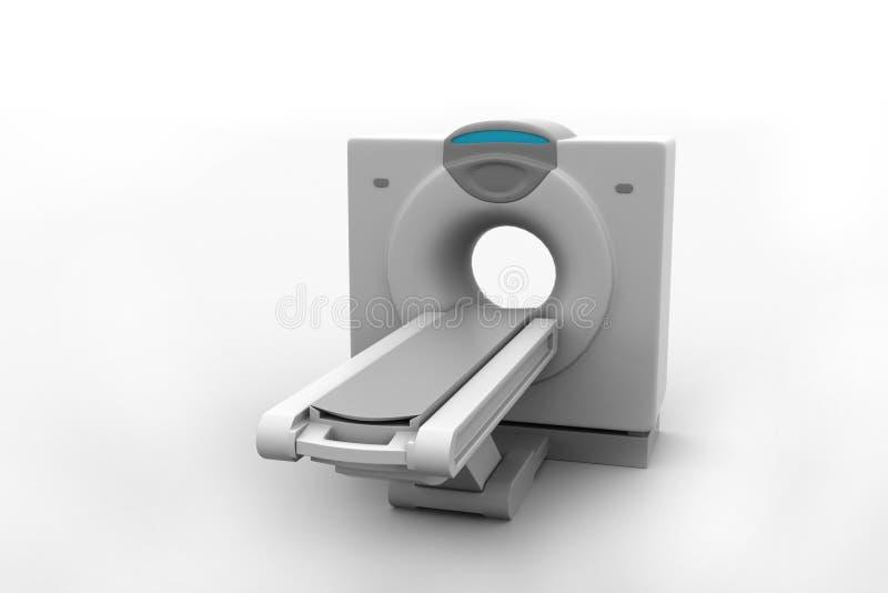 Томография блока развертки CT бесплатная иллюстрация
