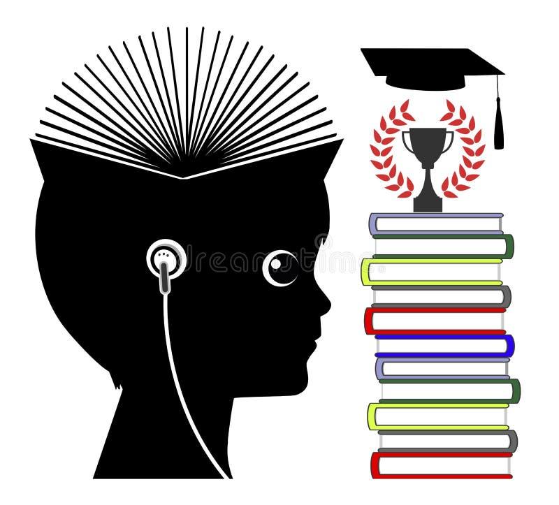 Тональнозвуковые книги и дислексия иллюстрация штока