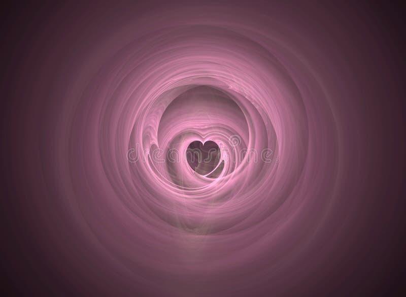 тоннель влюбленности фактически стоковое изображение rf