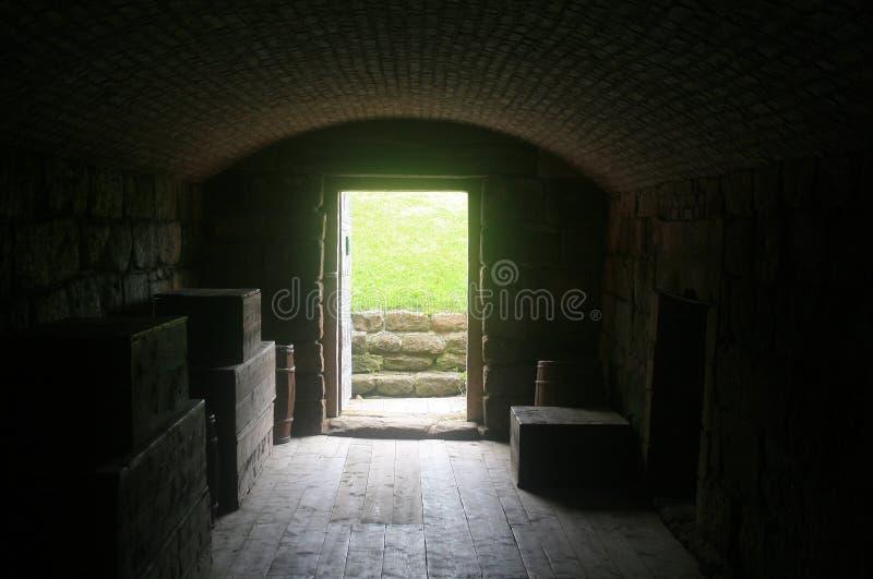 тоннель входа стоковая фотография rf