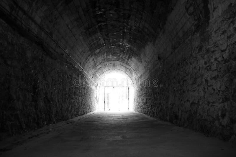 тоннель входного аэродромного огня стоковое фото rf