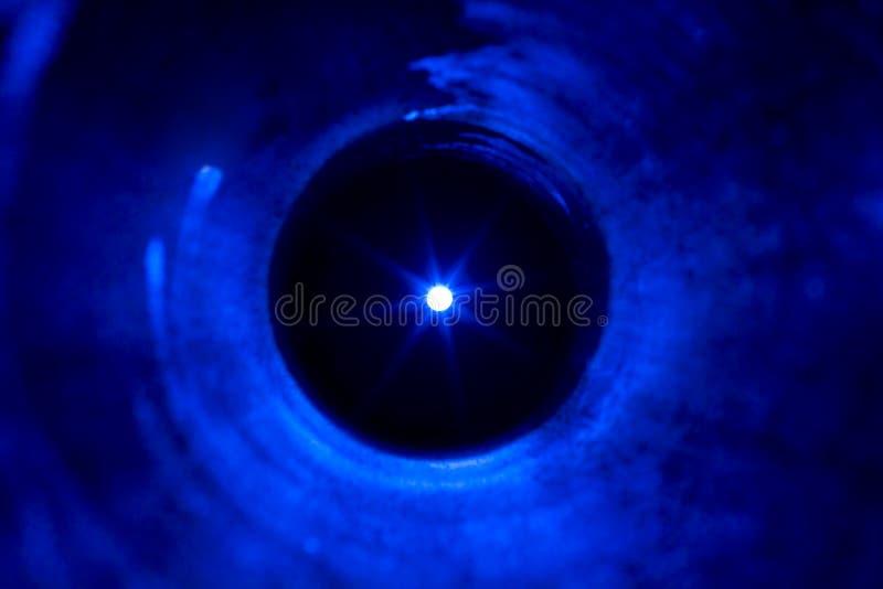 тоннель входного аэродромного огня стоковая фотография rf