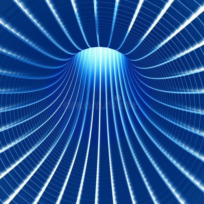 тоннель технологии бесплатная иллюстрация