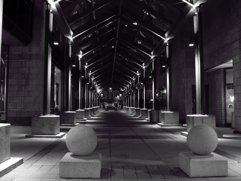 тоннель штендера стоковое изображение