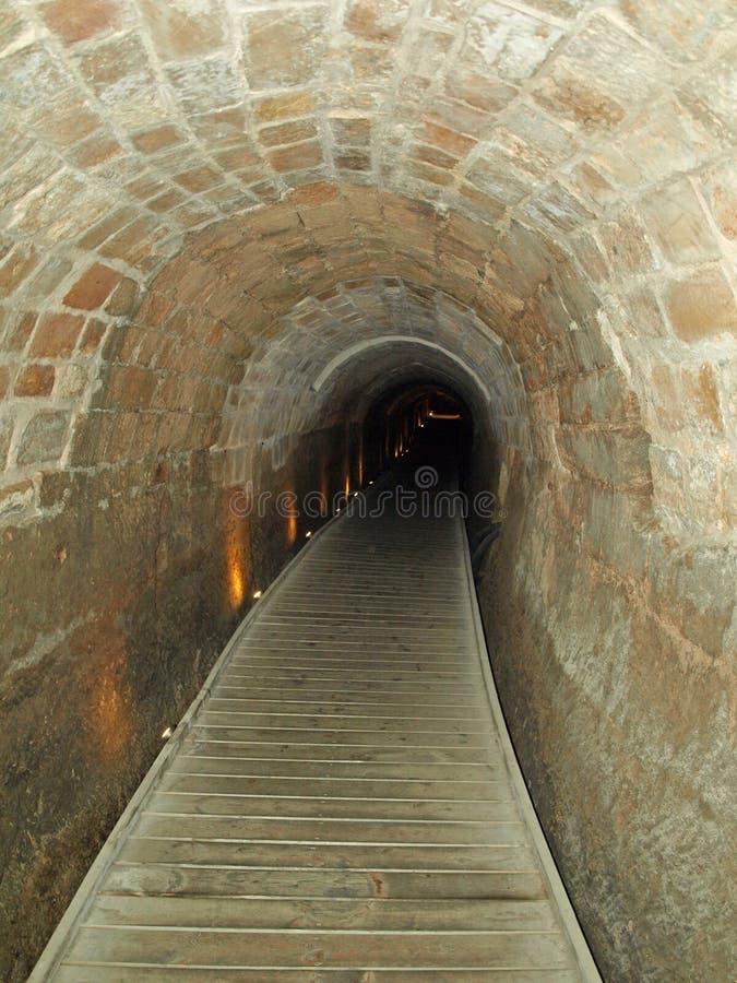 тоннель templars стоковое фото rf