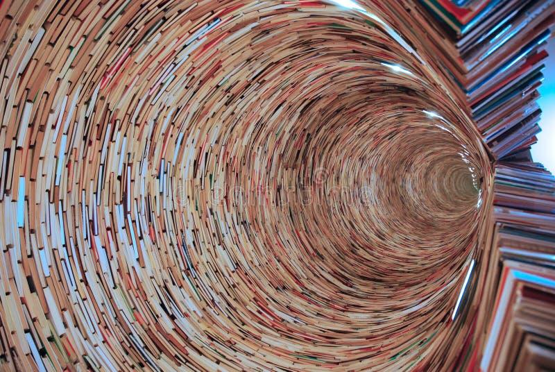 Тоннель книги стоковые изображения