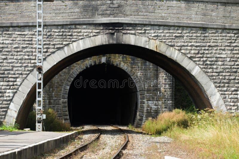 Тоннель поезда стоковые изображения rf