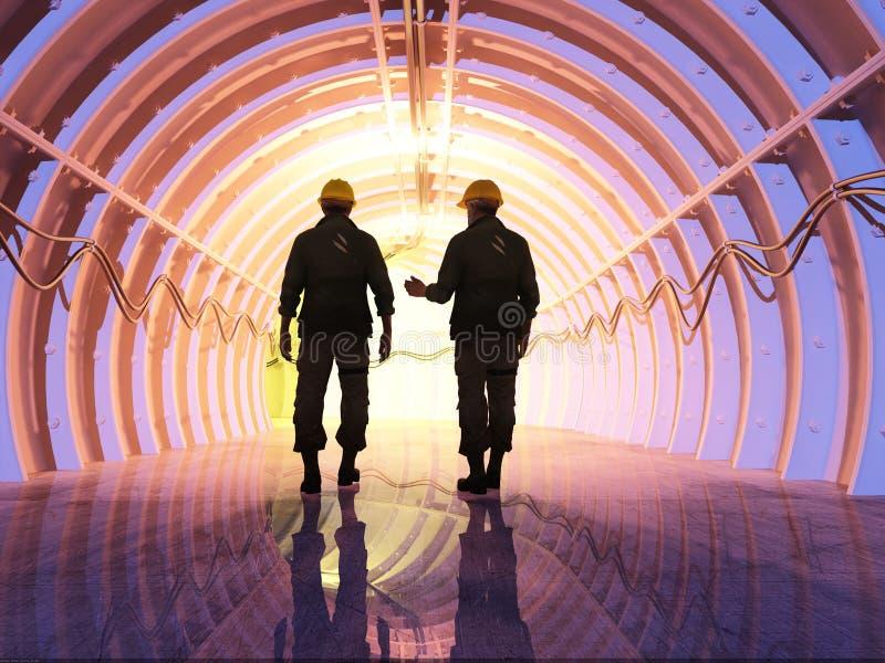тоннель бесплатная иллюстрация