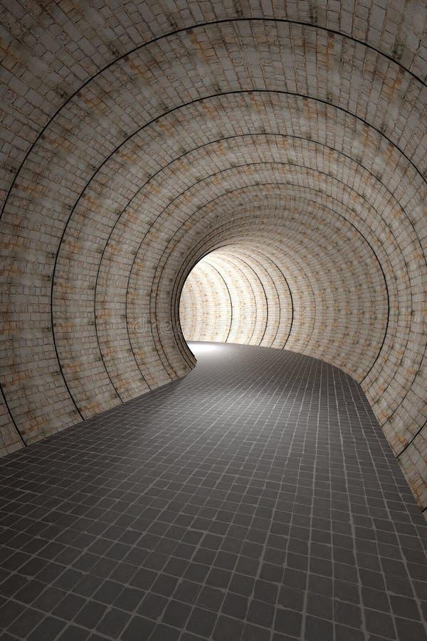 тоннель 3D бесплатная иллюстрация